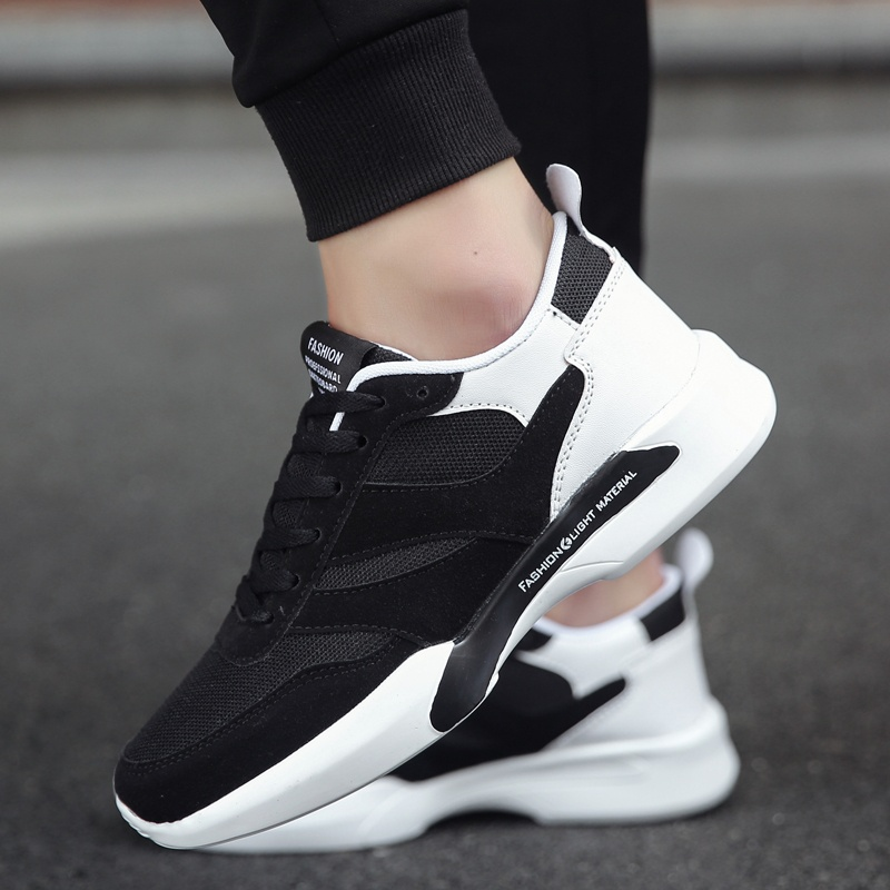 ... ZOQI Sneakers & Athletic Shoes Men's Fashion Sport RunningShoes(Black&White) - intl ...