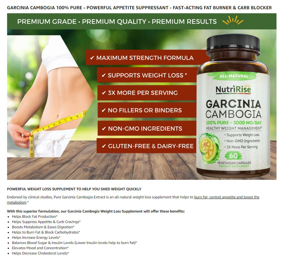 best garcinia cambogia pills for weight loss