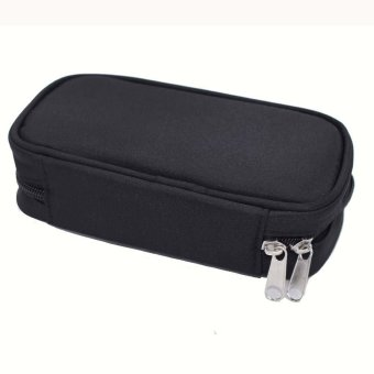 10-Bottle Essential Oil Carrying Case Holds for 5ml 10ml and 15ml Essential Oil Case Storage(Purple,Black,Rose,Blue) - intl - 3