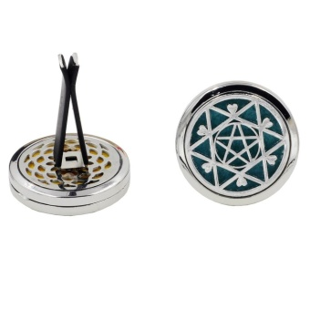 10 Style Stainless Car Air Vent Freshener Essential Oil Diffuser J- intl - 5
