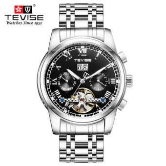 [100% Genuine] 2017 NEW Relogio Automatico Masculino tourbillon TEVISE Automatic Mechanical Watches Men Automatic militar Fashion Sport Military Watch 9005 - intl