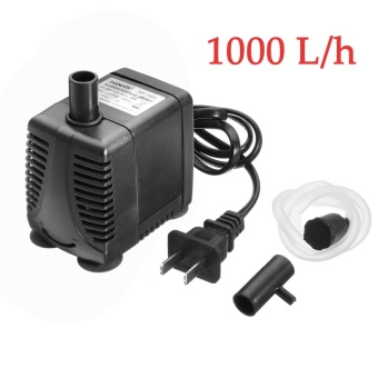 1000H/L Submersible Water Pump Aquarium Fish Tank Fountain Hydroponic + Adapter - intl