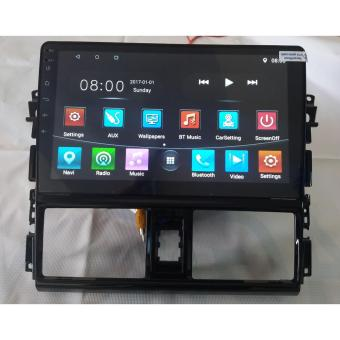 "10"" Panel + Dual Din Monitor for Toyota Vios"