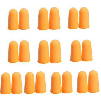 10Pairs Soft Foam Noise Prevention Ear Plugs