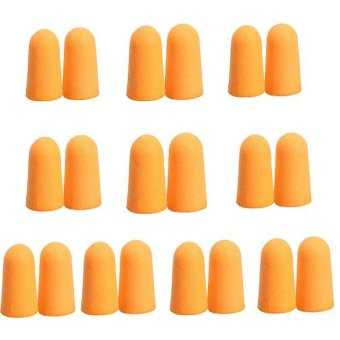 10Pairs Soft Foam Noise Prevention Ear Plugs - intl