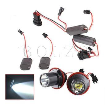 10W LED Angel Eyes Light Set of 2 Black - picture 2