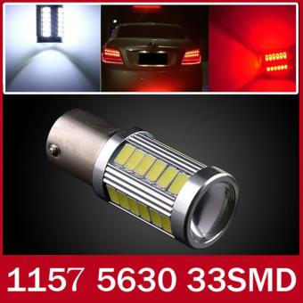 1157 20W 33SMD 5630 Car Led Turn Signal Lights Brake Tail LampsAuto Rear Reversing Bulbs (White Light) - intl