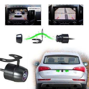 12V 120 degree Mini Color CCD Reverse Backup Car Rear Front ViewCamera Universal Car Styling Accessories - intl