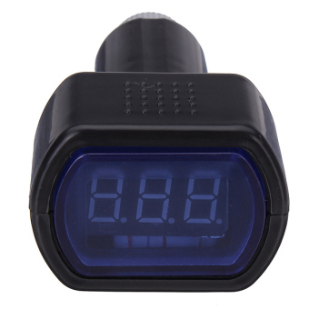 12V-24V Digital LCD Auto Car Voltmeter Gauge Voltage Meter Volt Monitor Price Philippines