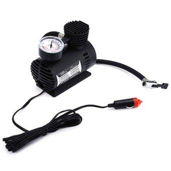 12V 300PSI Portable electric car tire air compressor tire inflator(Black)