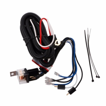 12V Electric Horn Relay Wiring Harness Kit For Grille Mount BlastTone Horns Car - intl