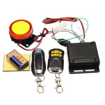 12V Motorcycle Scooter Anti-theft Security Alarm System with RemoteControl for Honda - intl