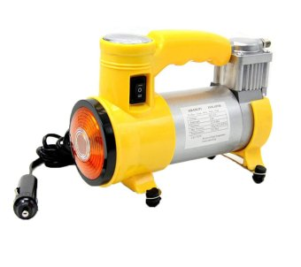 12V150PSI Portable electric air compressor car inflator pump(Yellow)