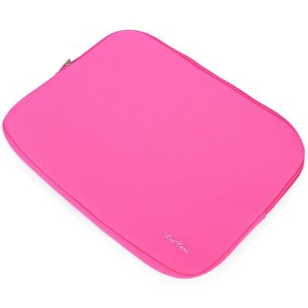 15 inch Zipper Laptop Computer Bag For MacBook Air Pro Retina (PINK)