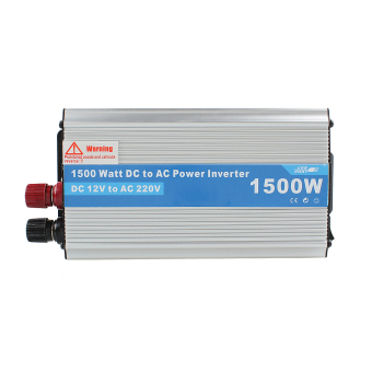 1500W Power Inverter Adapter DC 12V to AC 220V For CarRefrigerator/TV/Camera