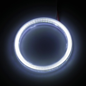 1pair Auto Halo Rings Headlight Angel Eye LED For Motorcycle Car70mm - intl - 4