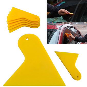 1pc Car Auto Window Scraper Wrapping Tint Vinyl Film Squeegee Cleaning Tool Kit
