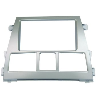 2 Din Conversion Panel for Toyota Vios 2008-2012 (Silver)