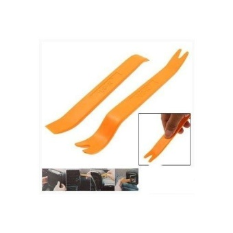 2 Pcs No-Scratch Audio Refit Set Car Panel Removal Tool - intl