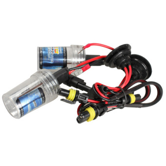 2 Pcs Xenon HID H7 4300K 35W Head Lamp Headlight Bulbs for Car Auto
