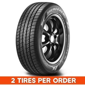 2 pieces Quality Tires Thunderer 185/70R14 for Civic, Altis, etc