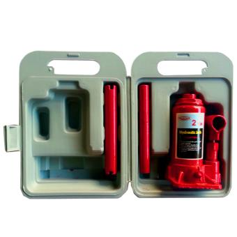 2 Ton Hydraulic Bottle Jack with Plastic Carrying Blown Case (Red)with Free Wrench - 4
