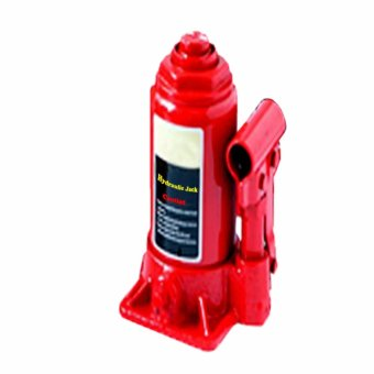 2 Ton Hydraulic Bottle Jack with Plastic Carrying Blown Case (Red)with Free Wrench - 5