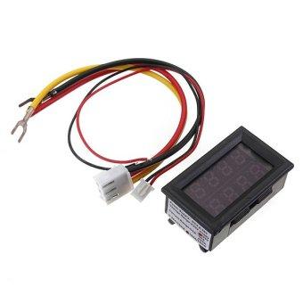 200V 100A DC Digital Voltmeter Ammeter LED Amp Volt Meter With Current Shunt