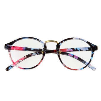 2015 Fashion Eyeglasses Frame Optical Reading Eye plain GlassesColoured