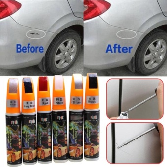 2017 12ML 6Colors Car Repair Pen Car Fix It Paint Repair Remover Touch Pen - intl