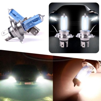 2017 Hot H4 100W Xenon Gas Super White LED Car Headlight Light Headlight Bulb - intl
