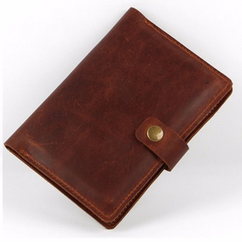 2017 New Arrival Credit Card Travel Wallet Men's Passport CoverTravelus Multifunction Package ID Card Holder Money Bag MaleCase-Brown - intl
