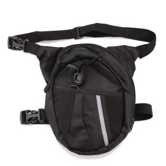 2017 new style Men Pack Waterproof Motorcycle Riding Rider Messenger Waist Bag Drop Leg Bags - intl - 3