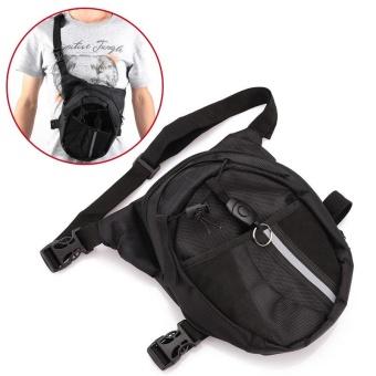 2017 new style Men Pack Waterproof Motorcycle Riding Rider Messenger Waist Bag Drop Leg Bags - intl - 5