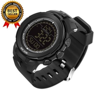 2017 Popular SANDA 340 G Style Male Digital Watch S Shock Men military army Watch water resistant Date Calendar LED Sports Watches - intl