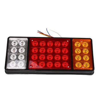 24V 36 LED Trailer Stop Rear Tail Lights Indicator Lamp Caravan Car Van