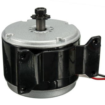 24V DC Electric Motor Brushed 250W 2750RPM 2-Wired Chain For E Bike Scooter