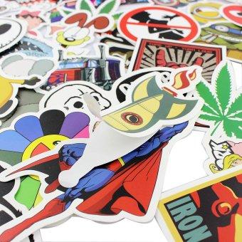25 stickers Skateboard Vintage Vinyl Sticker Laptop Luggage Car Decals mix - 4
