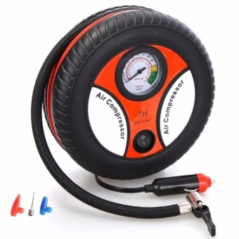 260PSI Auto Car Electric Tire Inflator Pump Air Pressure GaugeCompressor DC 12V