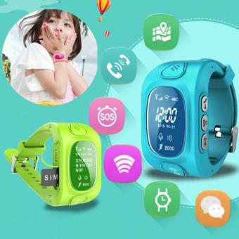 2Cool Children Smart Watch with Phone Call SOS Anti Lose GPSTracker WiFi Position Smart Watch for kids - intl