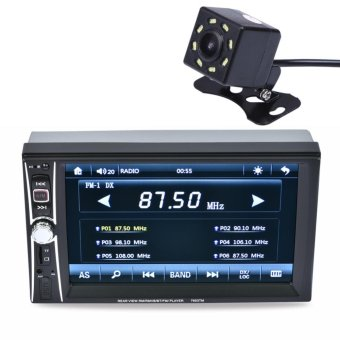 "2DIN 6.5"" HD In Dash Car TouchScreen Bluetooth Stereo MP3 MP5 Camera - intl"