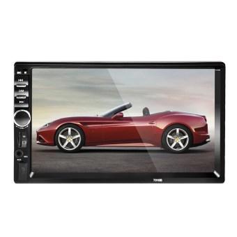 "2DIN 7\"" HD In Dash Car TouchScreen Bluetooth Stereo MP3 MP5 +Rear"
