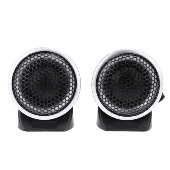 2pcs Mini Portable High Volume Car Interior Speaker Tweeter Loudspeakers - intl