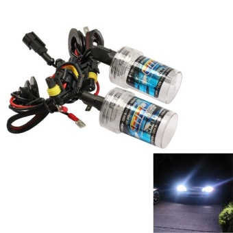 2X 55W H7 6000K Xenon HID Head Light Bulb Xenon Lamp Light Car Lamp- Intl