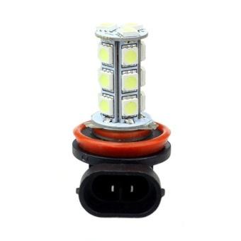 2x H11 H8 18 LED 5050 SMD Car Day Fog Head light Lamp Bulb Xenon White - intl - 2