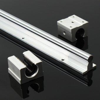 2X SBR12-800mm 12MM Fully Supported Linear Rail Sgaft Rod + 4 Sbr 12UU Block - intl - 4