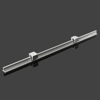 2X SBR12-800mm 12MM Fully Supported Linear Rail Sgaft Rod + 4 Sbr 12UU Block - intl - 2