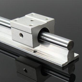 2X SBR12-800mm 12MM Fully Supported Linear Rail Sgaft Rod + 4 Sbr 12UU Block - intl - 5