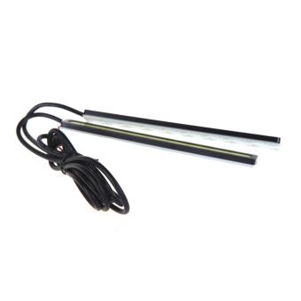 2x14cm 4W COB LED DRL Daytime Running Fog Lamp Light Bar White 12V. - picture 2