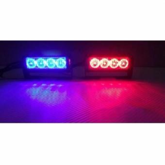 Buy 2x4 federal light bar strobe blinker redblue latest latest 2x4 federal light bar strobe blinkerredblue aloadofball Choice Image
